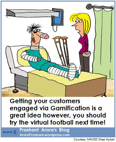 Gamification Customer Engagement Prashant Arora's Blog
