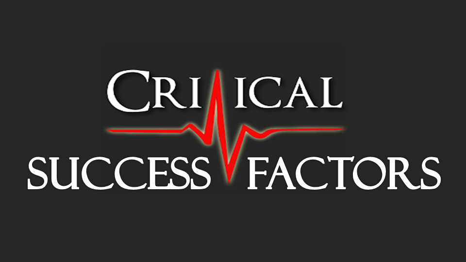how critical the critical success factors are in csi prashant